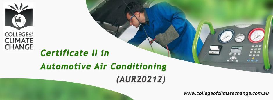 Automotive Air Conditioning Training (AUR20212)