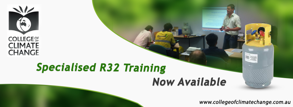 college of climate change - HFC R32 Training